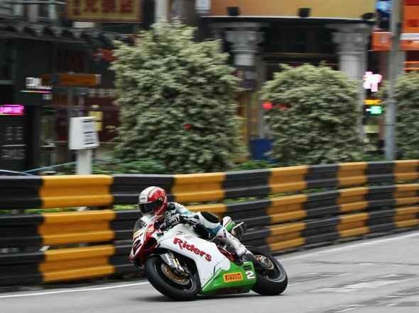 GP Macau vyhrál Rutter