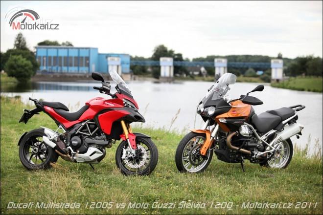 Ducati Multistrada 1200S vs Moto Guzzi Stelvio 1200