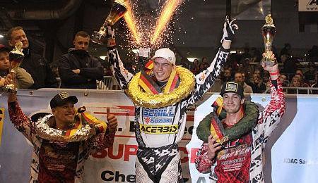 ADAC Supercross v Chemnitzi: Neugebauer v Top-5