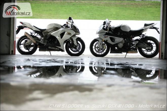 BMW S1000RR vs. Suzuki GSX-R1000
