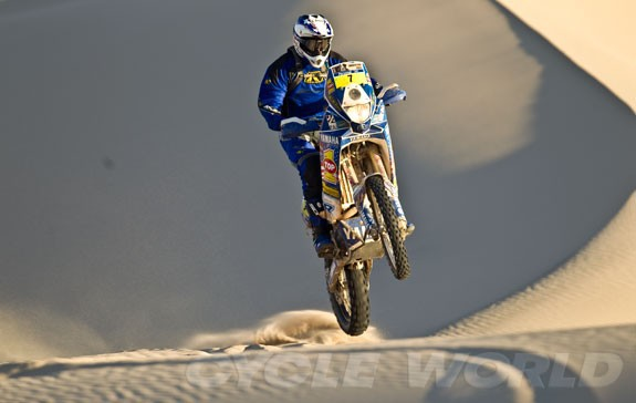 Yamaha se na Dakaru spoléhá na Rodriguese
