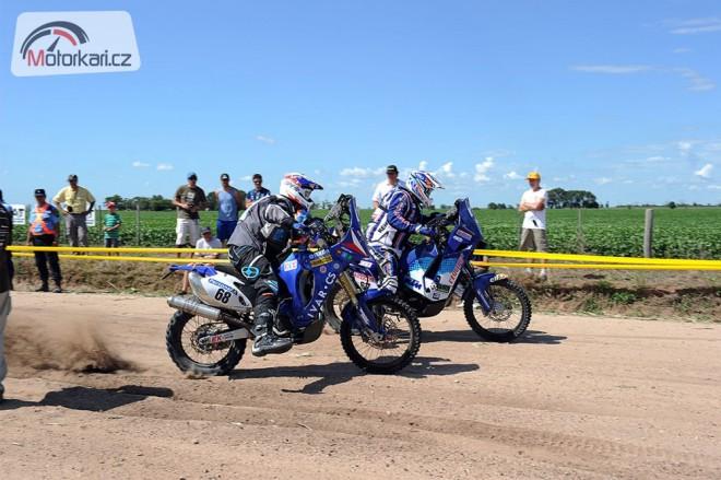 Dakar 2012: Jediný èeský motorkáø už je na místì