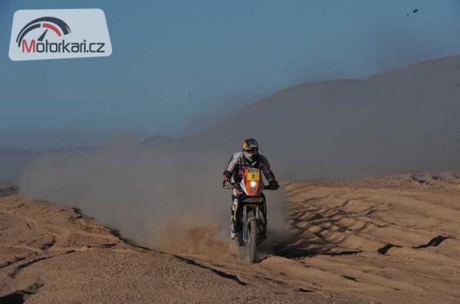 Dakar, 9. etapa: Despres si i pøes penalizaci vzal vedení zpìt