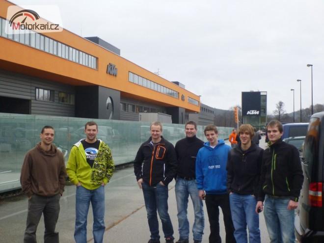 Vítìzové ECC  ve fabrice KTM