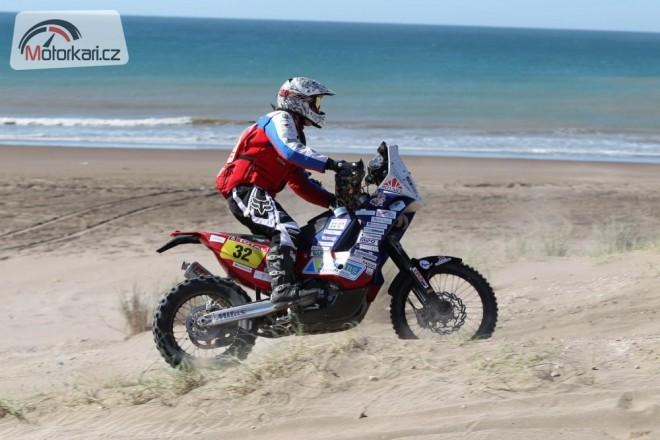 Svitko dostal za 5. místo na Dakaru hlavu beduína