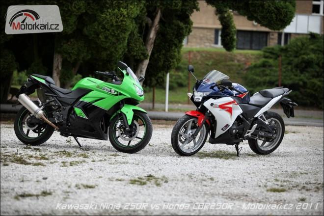 Honda CBR250R vs Kawasaki Ninja 250R
