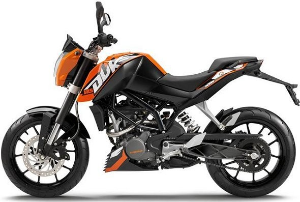 KTM Duke 350 potvrzeno na rok 2013
