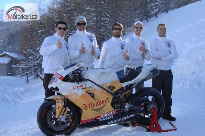 Effenbert Liberty Racing: Èím dál tím výš!