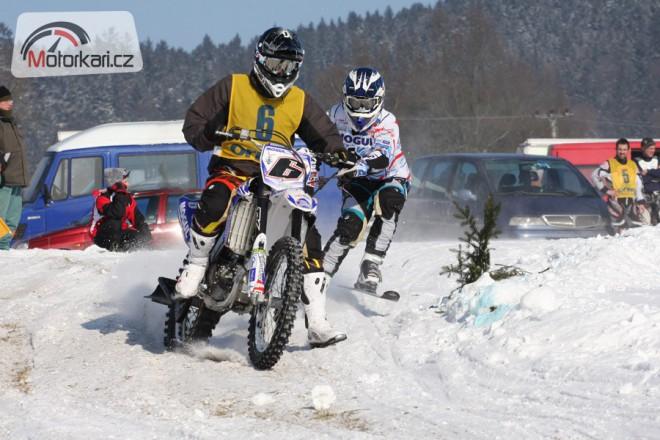 Motoskijöring jde do finále