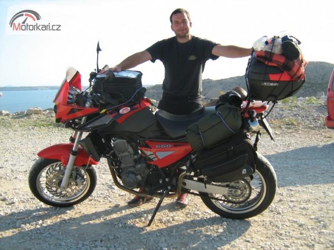 Chorvatsko s Jawou 660 Sportard