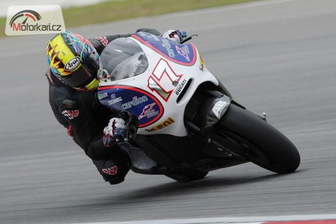 Abaja na testech v Jerezu