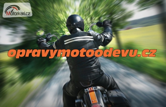 Opravy odìvù pro motorkáøe