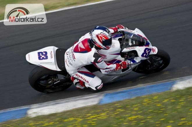 Testy supersportù - Phillip Island, 2. den