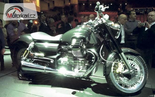 Moto Guzzi California 1400 pøedèasnì odhalena