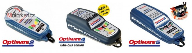 OptiMate - pøedstavení novinek