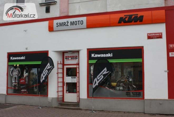 SMRŽ MOTO - servisní kampaò 2012