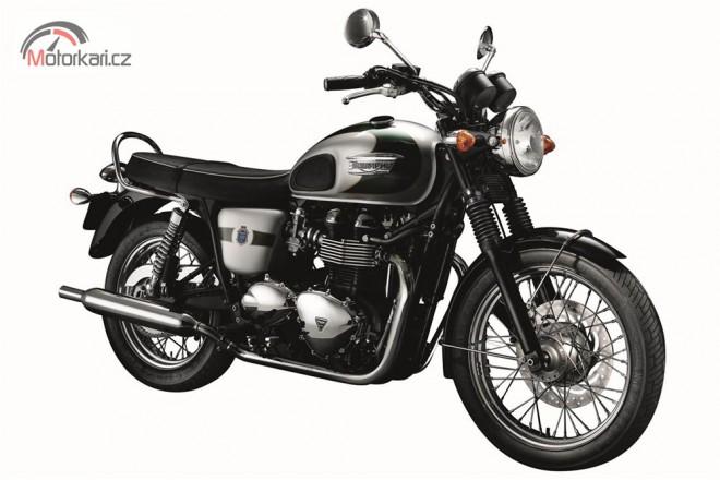 Jubilejní Triumph Boneville T100