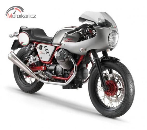"""Moto Guzzi pøedstavuje """"endurance racer kit"""""""