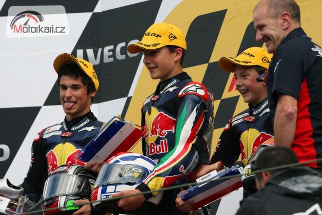 Pøíští týden zaèíná testy Red Bull MotoGP Rookies Cup 2012