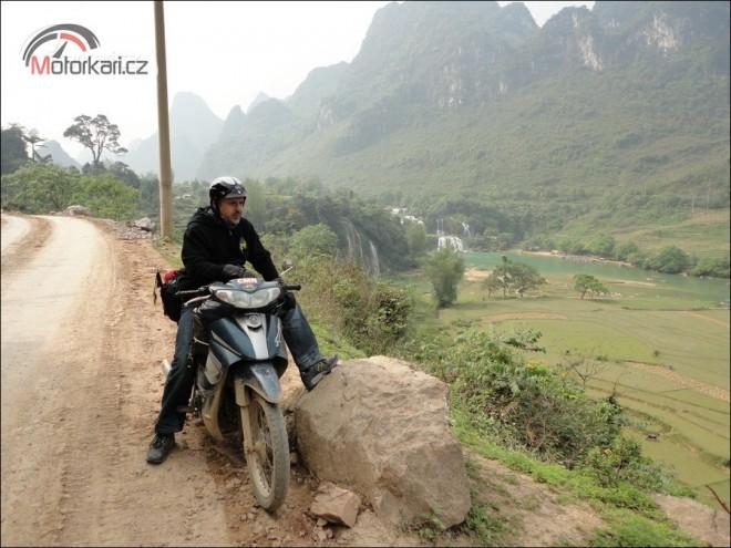 Vietnamská skútr tour