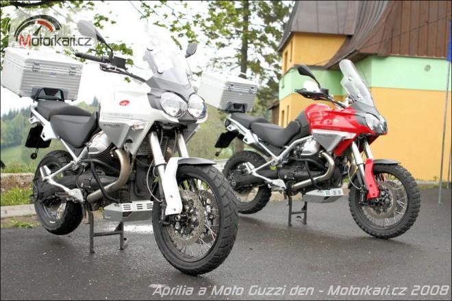 Aprilia a Moto Guzzi Test Rides 2012