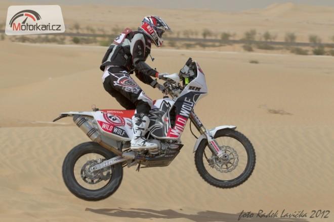 Abu Dhabi - první etapa
