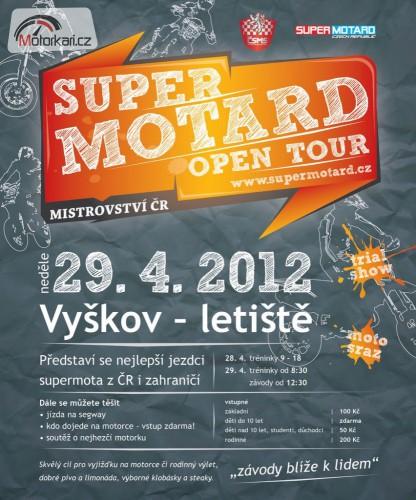 Supermotard Open Tour – MÈR Vyškov