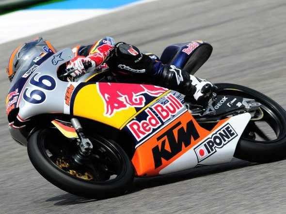V Jerezu zaèal dvìma závody Red Bull Rookies Cup