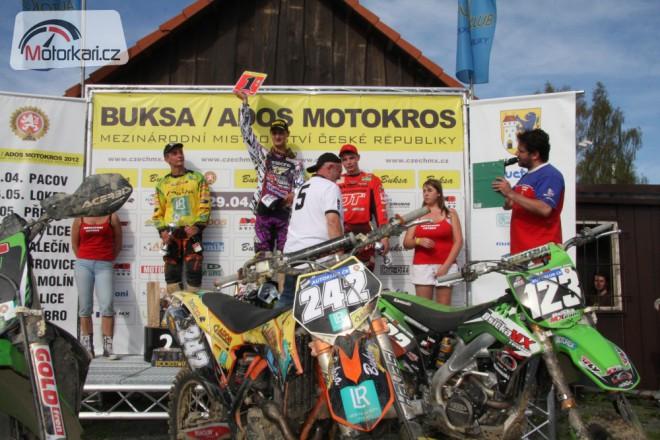 Pacov byl první zastávkou MM ÈR v motokrosu