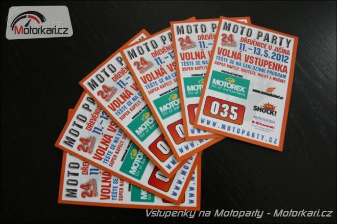 Soutìž o vstupenky na Moto Party