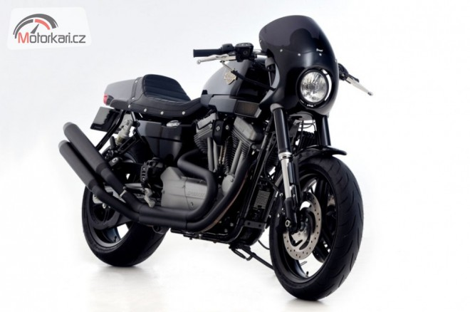 Jewel Racer H-D XR1200 Cafe Racer