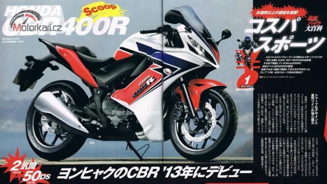 Bude nová Honda CBR400R i pro evropský trh?