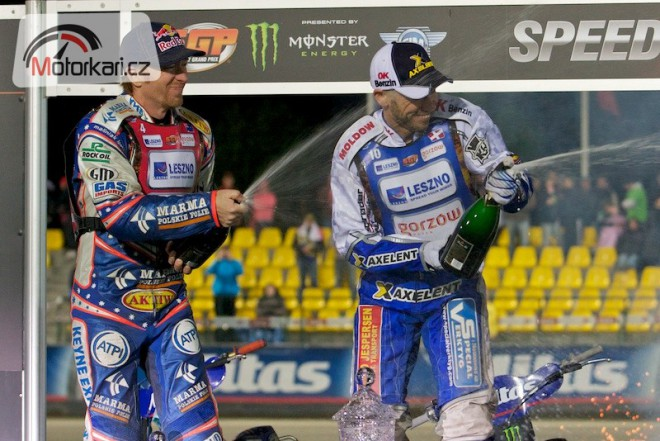 Franc vyhrál tøi jízdy GP, finále patøilo Pedersenovi