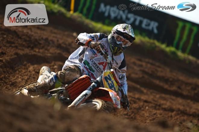 Martin Michek vyhrál GP Bulharska tøídy MX3