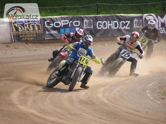 2nd race Czech Flat Track Serie 2012