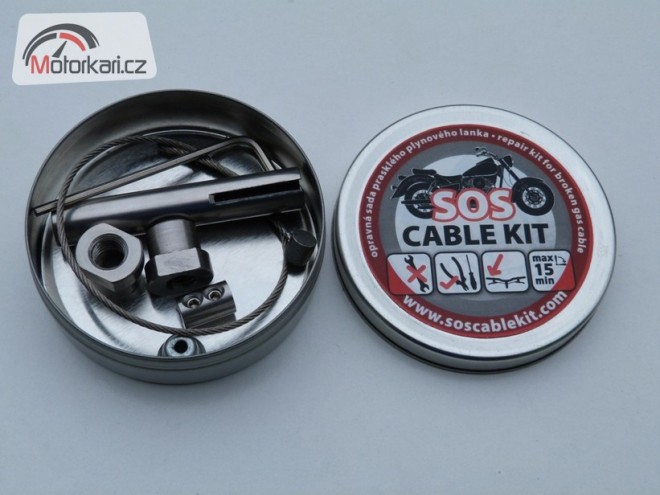 SOS Cable kit -  pro V� klid na cest�ch