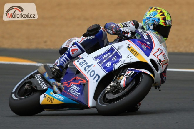 Nap�nav� kvalifikace v Le Mans: Karel Abraham 10.