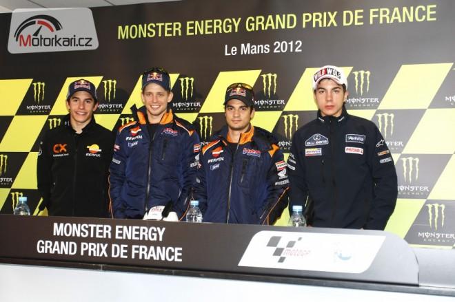 Ohlasy jezdcù po kvalifikaci v Le Mans