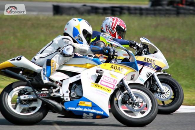 Èeši se rvali o vítìzství v nìmeckém ADAC Minibike Cupu!