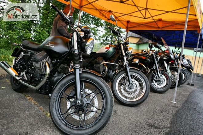 Víkend s Aprilia & Moto Guzzi test rides právì zaèíná