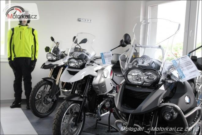 Motogart otevírá v Mìcholupech nový motoshop a servis
