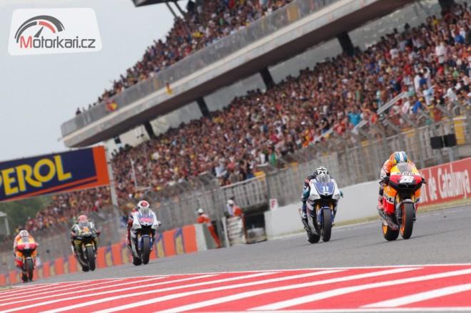 Týmy MotoGP testovaly v Barcelonì