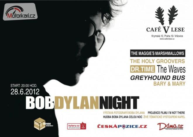 Sout� o vstupenky na Bob Dylan Night