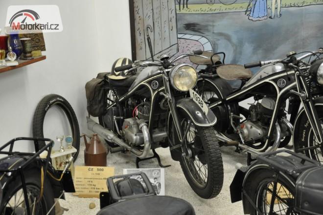 Moto a Velo muzeum v Pøerovì nad Labem