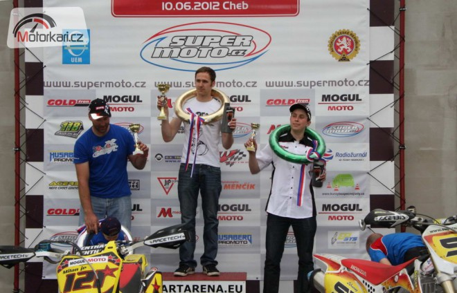 Mogul Supermoto 2012 - MM �R v Chebu