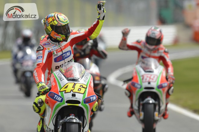 Rossiho prodloužení smlouvy s Ducati záleží pouze na kvalitì biku