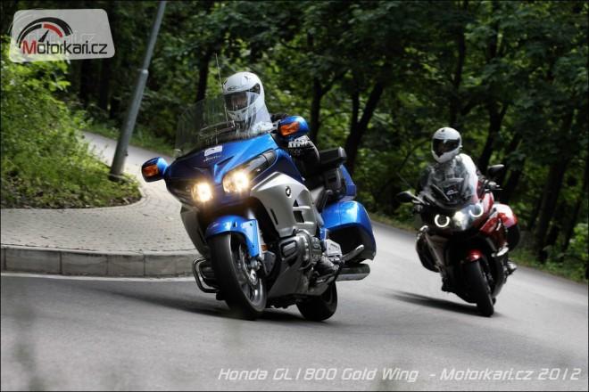Honda GL 1800 Goldwing vs BMW K1600GT