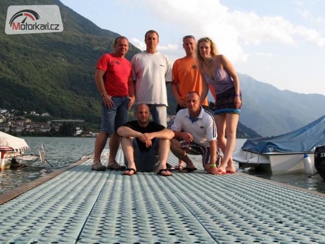 Bratrstvo rùžové pracky v Alpách 2012