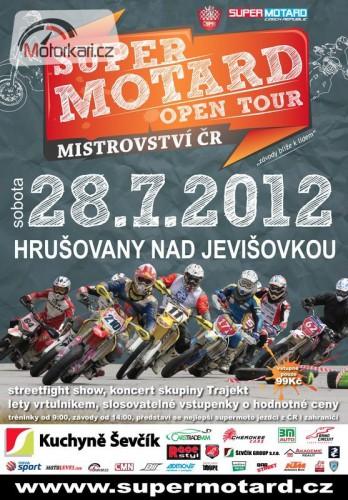 Supermotard Open Tour MÈR - Hrušovany nad Jevišovkou