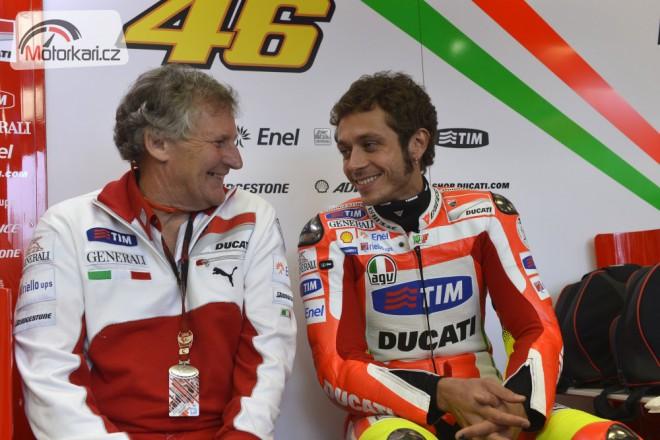 Odolá Rossi nabídce Ducati?